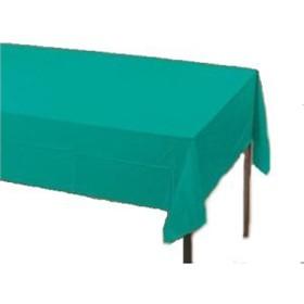 plastic-tablecloths-teal